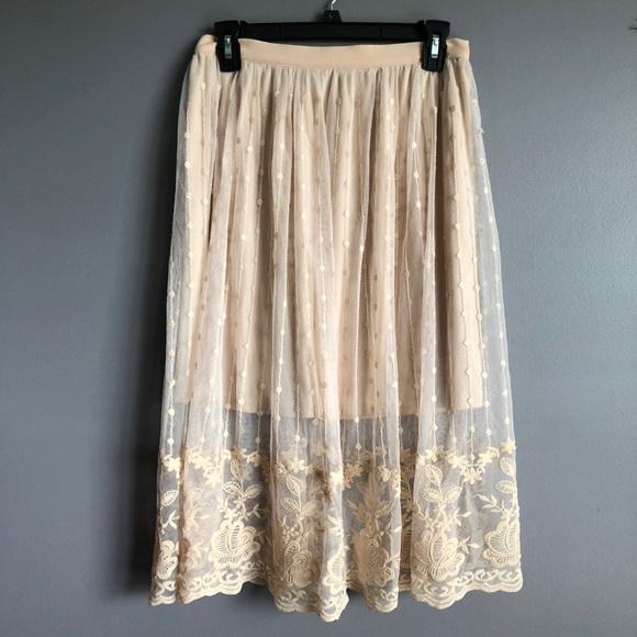 Forever 21 Dresses & Skirts - Forever 21 • Contemporary Lace Skirt